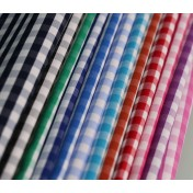 shirt fabric,checks fabric, blouses fabric, Polyester cotton fabric