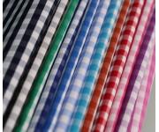 shirt fabric,checks fabric, blouses fabric, Polyester cotton fabric