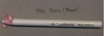 pencil, textile pencil,